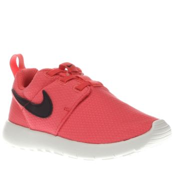 Nike Peach Roshe Run Girls Toddler