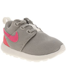Nike Grey Roshe One Girls Toddler