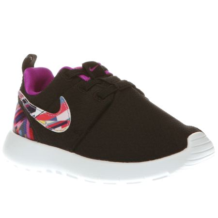 mvxze Girls Multi Nike Roshe One Print Toddler Trainers | schuh