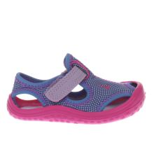Nike Purple & Pink Sunray Protect Girls Toddler