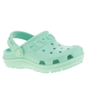 Crocs Turquoise Hilo Clog K Girls Toddler