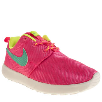 Girls Nike Pink Roshe Run Girls Toddler