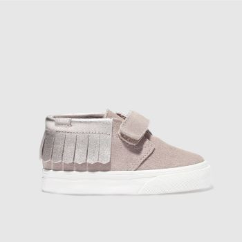 Vans Pink Chukka V Moc Girls Toddler