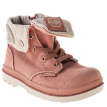 Toddler Pale Pink Palladium Baggy Zipper