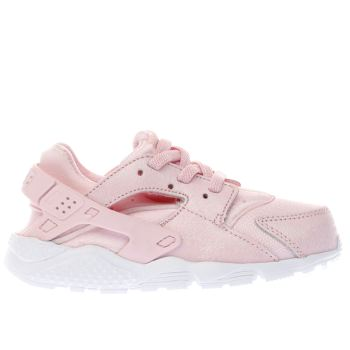 Nike Pale Pink HUARACHE RUN Girls Toddler