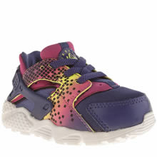 Nike Multi Huarache Run Girls Toddler