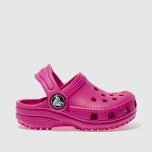 Crocs Pink Classic Clog Girls Toddler