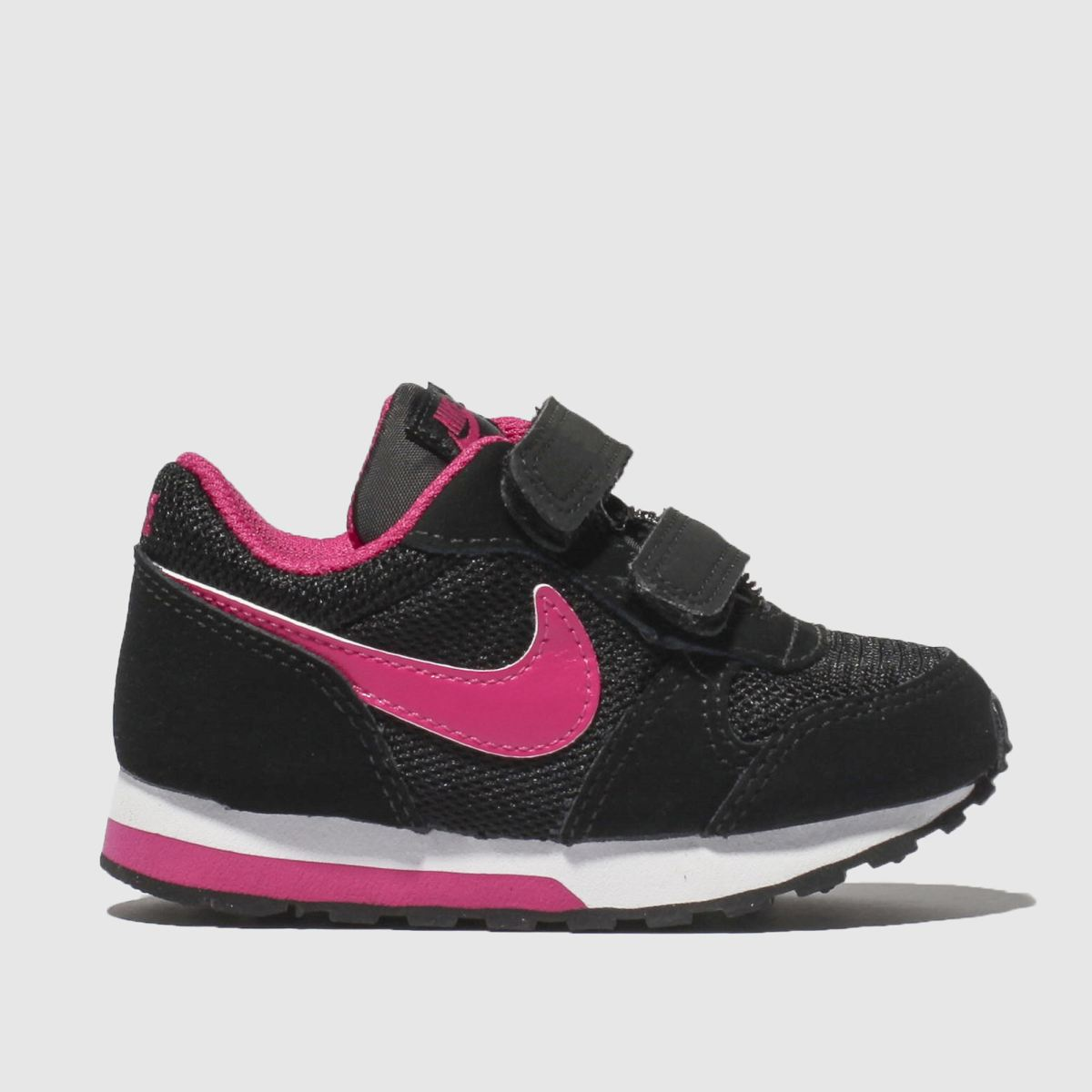 Nike Pink & Black Md Runner 2 Trainers Toddler