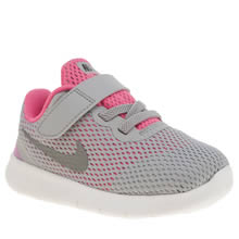 Nike Grey Free Rn Girls Toddler