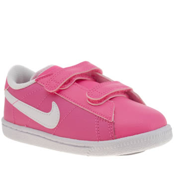 Girls Nike Pink Tennis Classic Girls Toddler