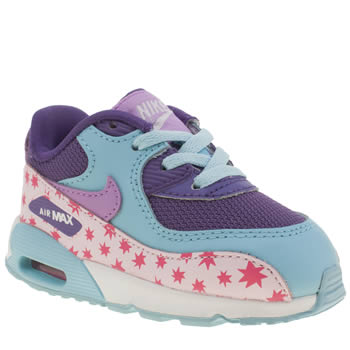 Nike Multi Air Max 90 Prem Mesh Girls Toddler