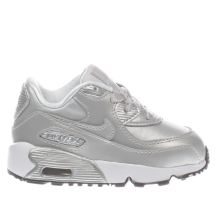 Nike Silver Air Max 90 Se Girls Toddler
