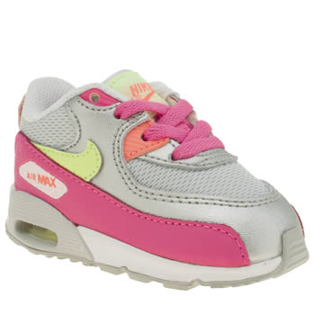 Nike Multi Air Max 90 Mesh Girls Toddler