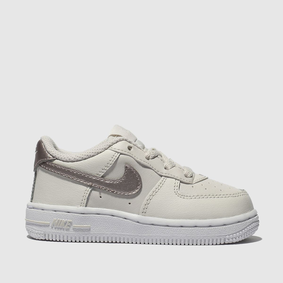 Nike Natural Air Force 1 Trainers Toddler