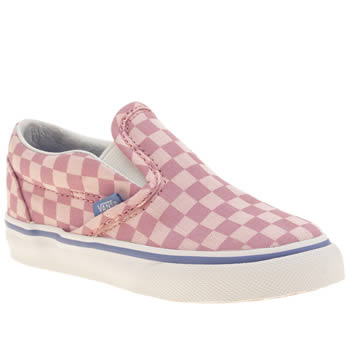 Girls Vans Pink Classic Slip-on Girls Toddler
