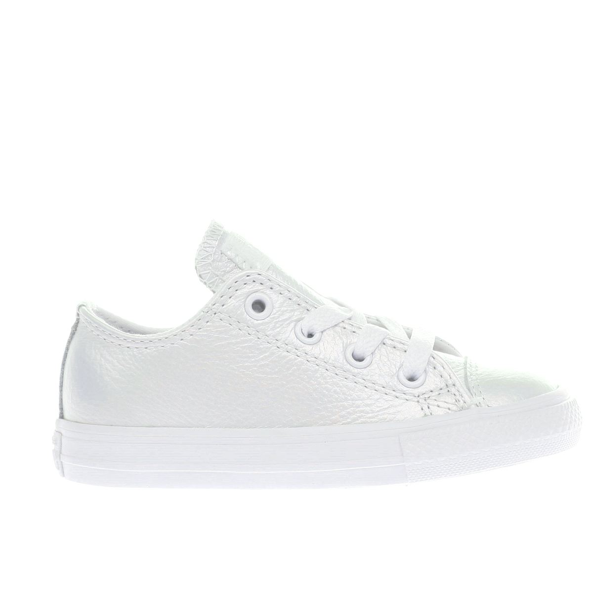 converse white all star lo Girls Toddler Trainers