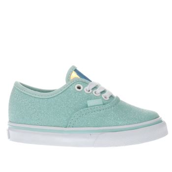 Vans Turquoise Authentic Girls Toddler