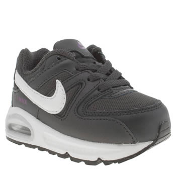 Nike Grey Air Max Command Girls Toddler