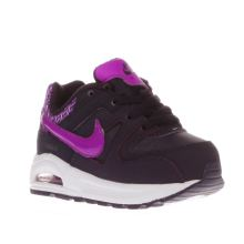 Nike Dark Purple Air Max Command Flex Girls Toddler