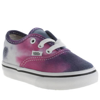 Girls Vans Multi Authentic Girls Toddler