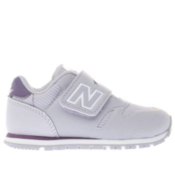 New Balance Lilac 373 Girls Toddler