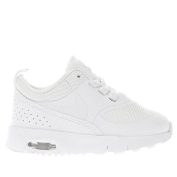 Nike White AIR MAX THEA Girls Toddler