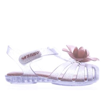 ZAXY CLEAR BABY BLOOM GIRLS TODDLER SANDALS