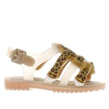 Melissa Beige Jeremy Scott Flox Girls Toddler