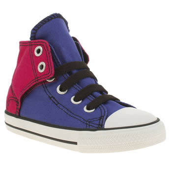 Converse Purple All Star Hi Easy On Girls Toddler