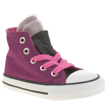 Girls Converse Pink All Star Party Hi Girls Toddler