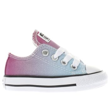 Converse Pink All Star Ox Sunset Wash Girls Toddler