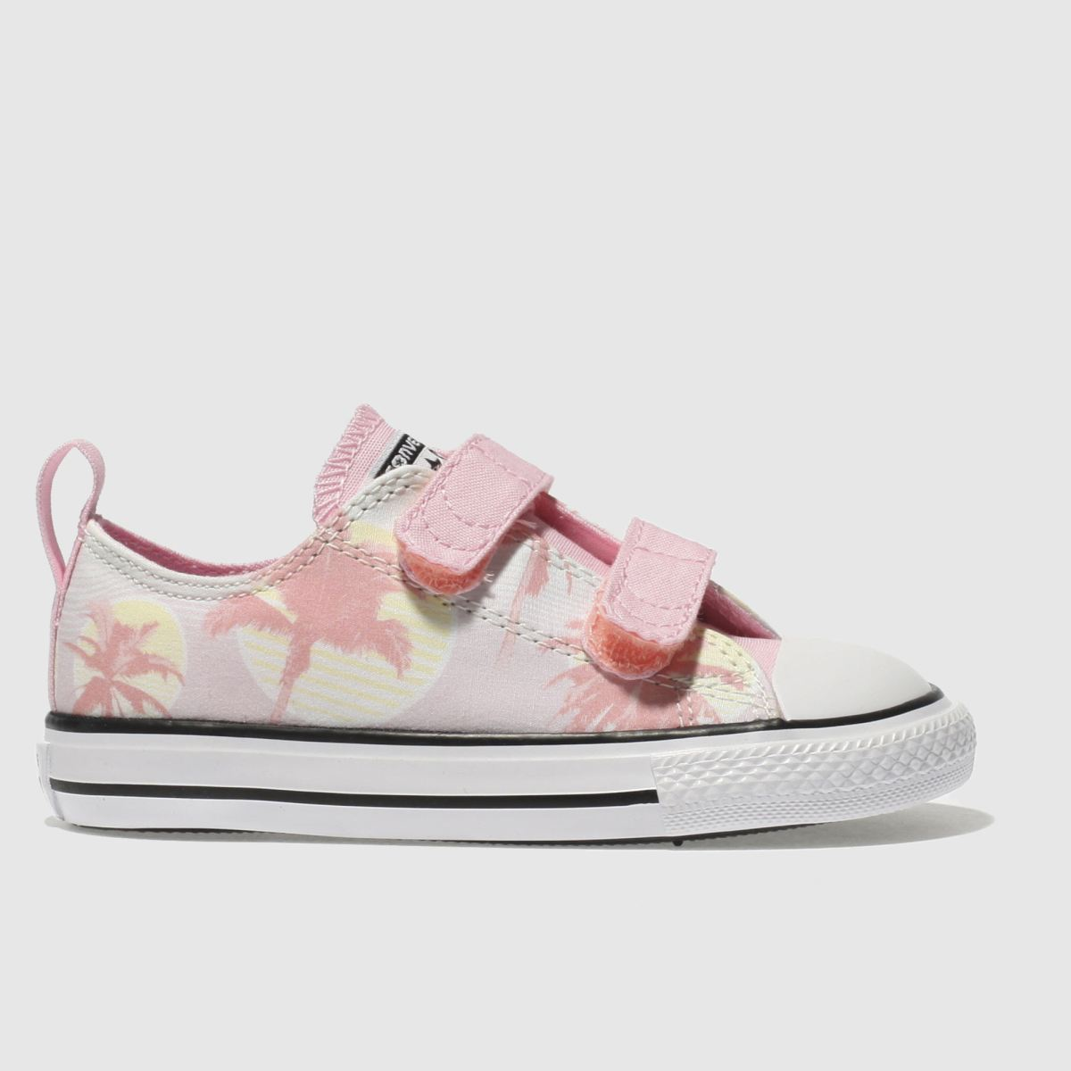 Converse Pink Chuck Taylor All Star Lo 2 V Trainers Toddler
