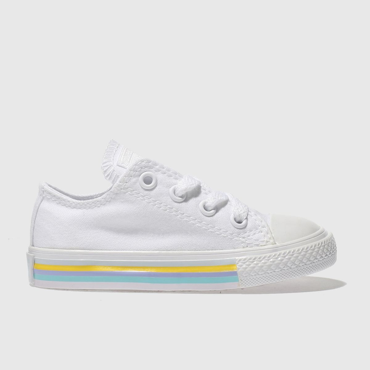 Converse White Chuck Taylor All Star Lo Girls Toddler Toddler