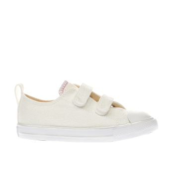 Converse Natural All Star Ox 2v Girls Toddler