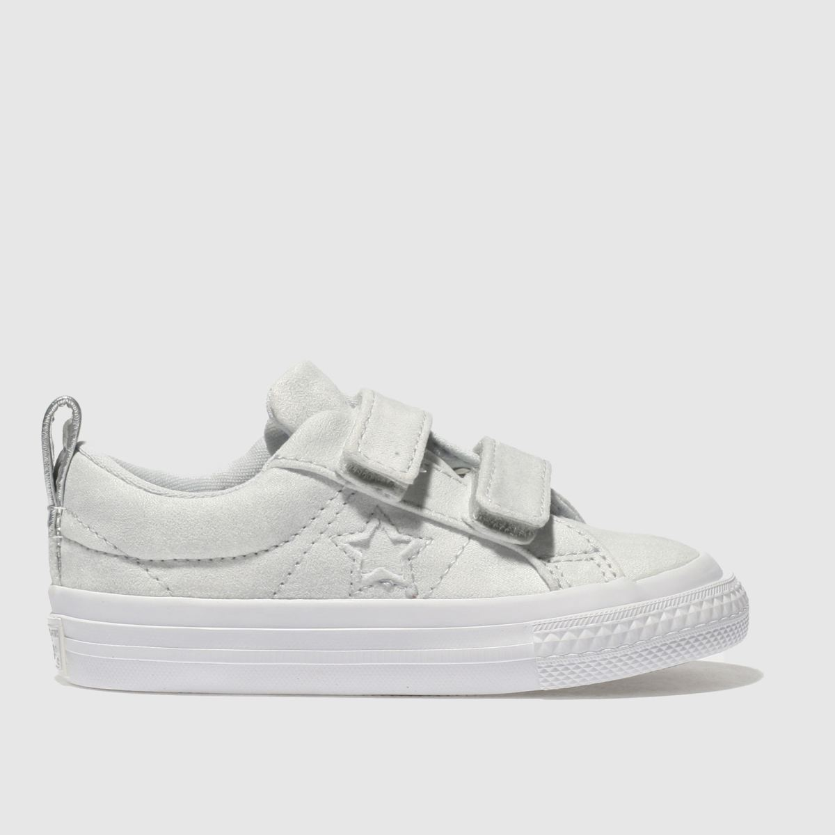 Converse Light Blue One Star Ox 2v Girls Toddler Trainers