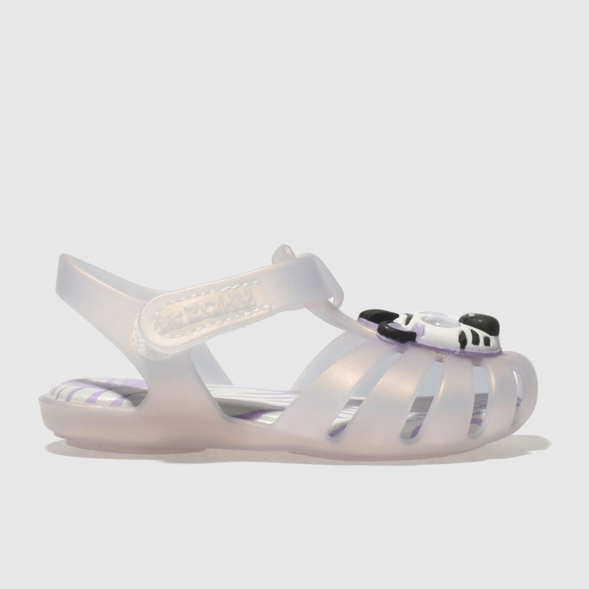 Zaxy Zaxy Purple Baby Animal Girls Toddler Sandals