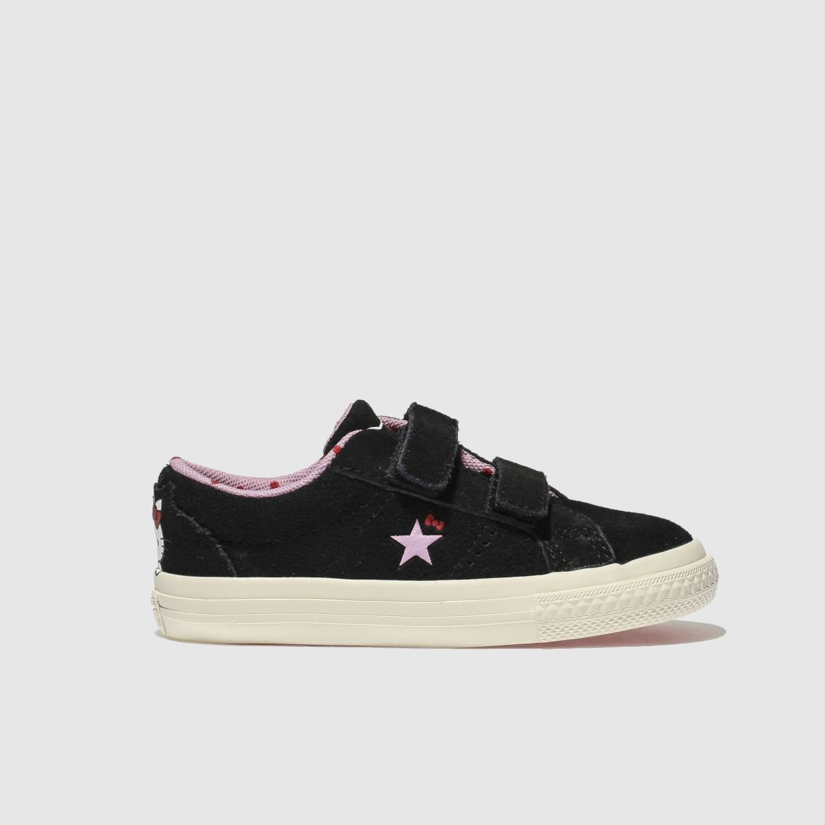 Converse Black One Star Hello Kitty Girls Toddler Toddler