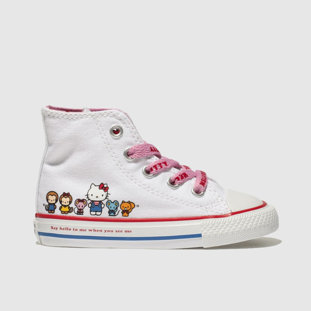 Converse Multi All Star Hello Kitty Hi Girls Toddler Toddler