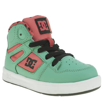 Dc Shoes Turquoise Rebound Se Girls Toddler