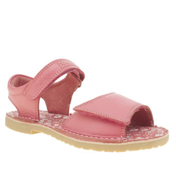 Kickers Pink Adlar San Girls Toddler