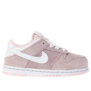 Nike Pink Dunk Low Girls Toddler