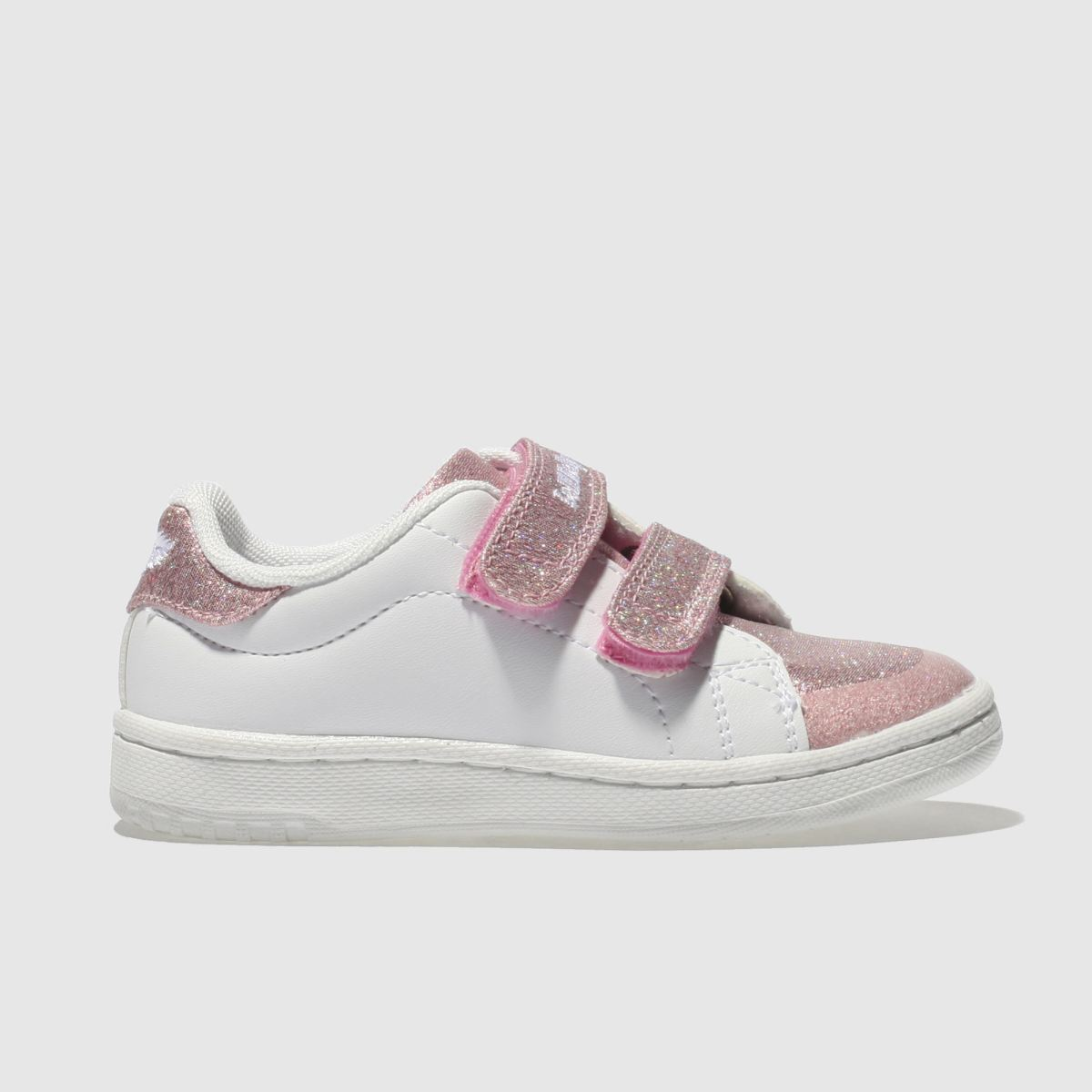 Lelli Kelly Lelli Kelly  White & Pink Jenny Girls Toddler Trainers