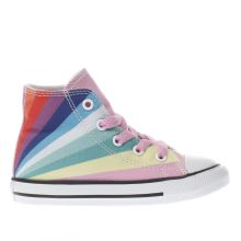 Converse Pink All Star Ox Rainbow Girls Toddler