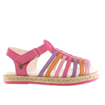 UGG PINK GRETEL GIRLS TODDLER SANDALS