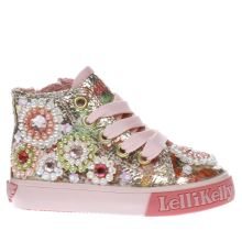 Lelli Kelly Pink Candy Mid Girls Toddler