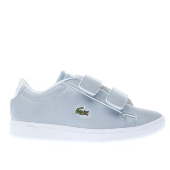 Lacoste Blue Carnaby Evo Girls Toddler