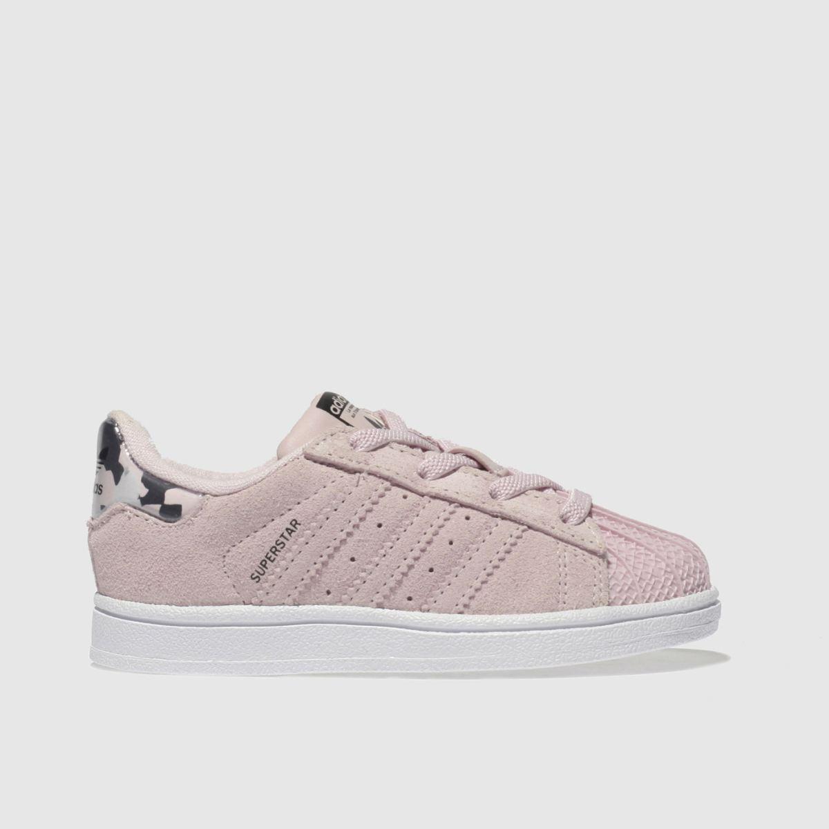 Adidas Pink Superstar Girls Toddler Toddler