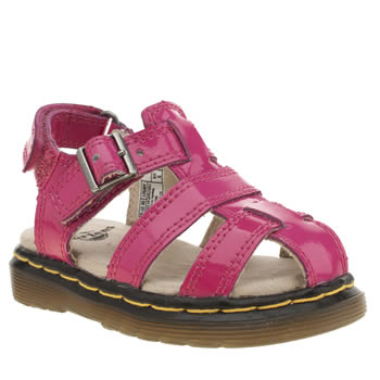 Dr Martens Pink Moby Sandal Girls Toddler