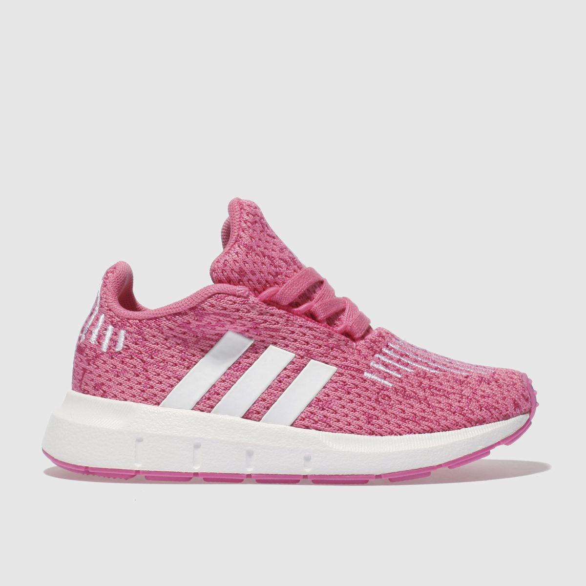 Adidas Pink Swift Run Girls Toddler Toddler