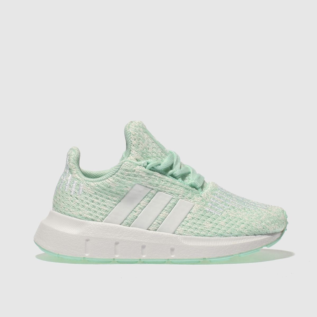 Adidas Light Green Swift Run Trainers Toddler